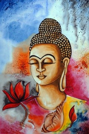 Chitra Singh Indian Woman Artist Abstract Figurative And Spritiual Modern Contemporary Paintings