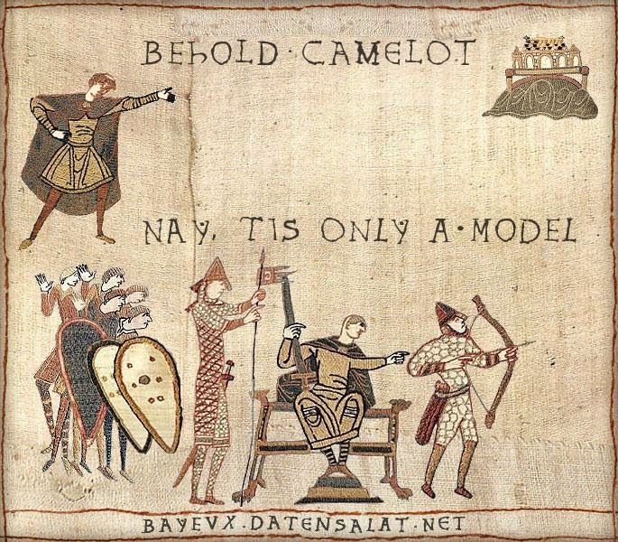 So someone pointed me to the Bayeux tapestry meme
