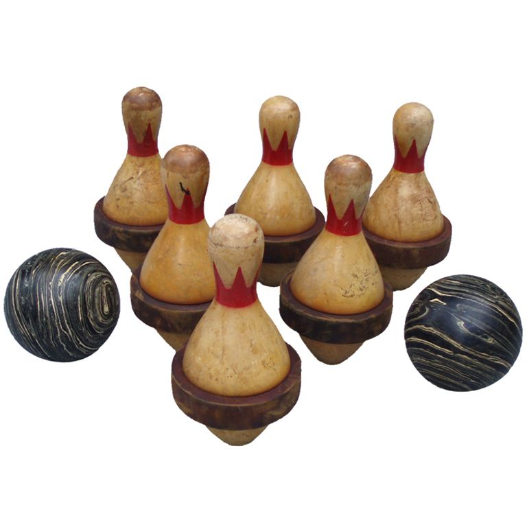 Duckpin Bowling Pins And Balls By William Wuerthele Bowling Pins Duck Pins Bowling