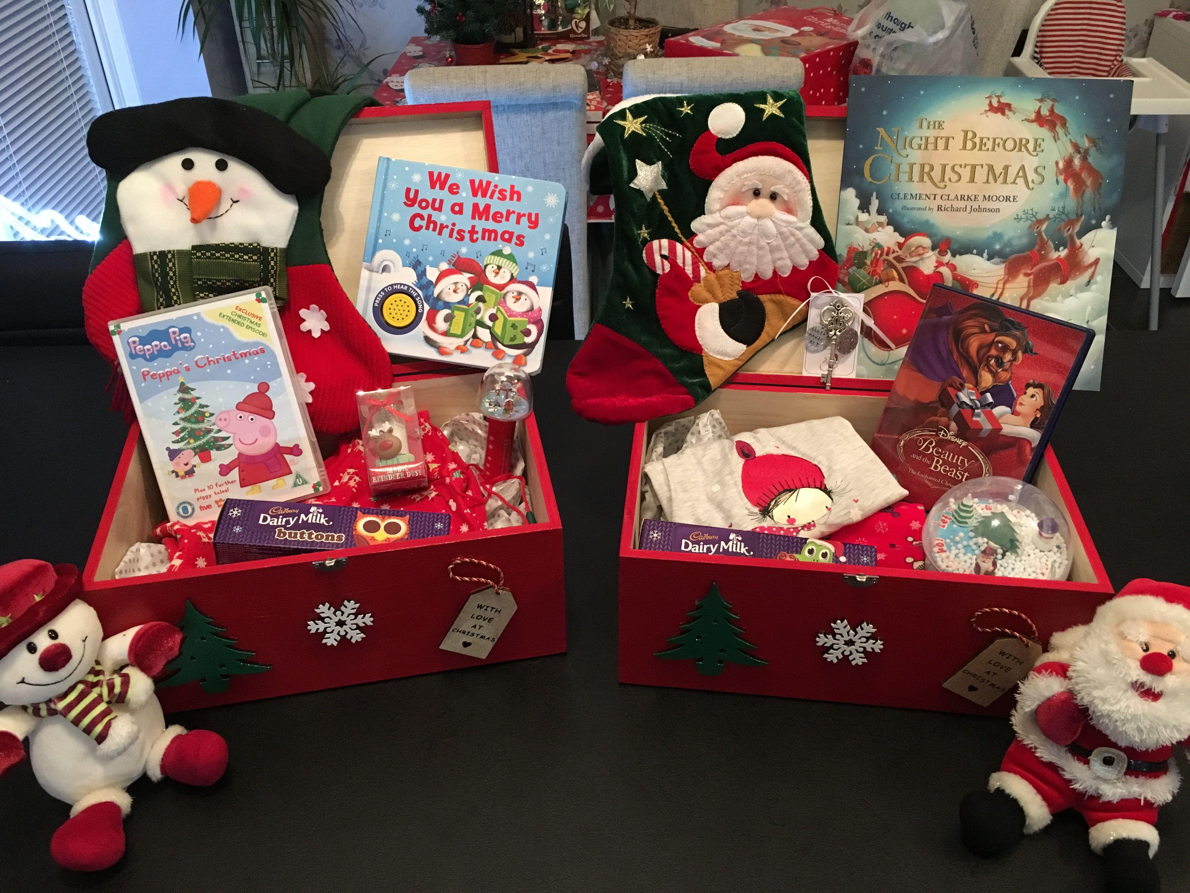 Christmas Eve Box Christmas Eve Gift Babies First Christmas Christmas Eve Box