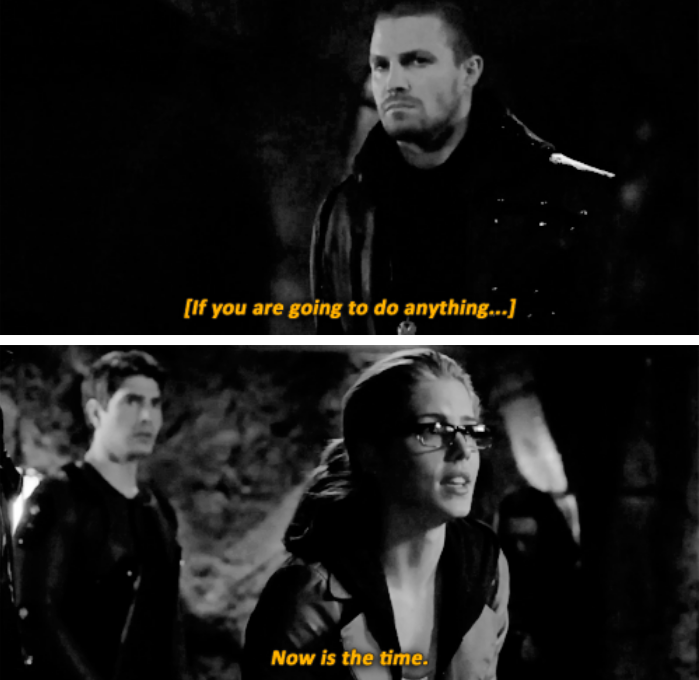 """#Arrow #3x22 """"This Is Your Sword"""" - Canadian Promo"""