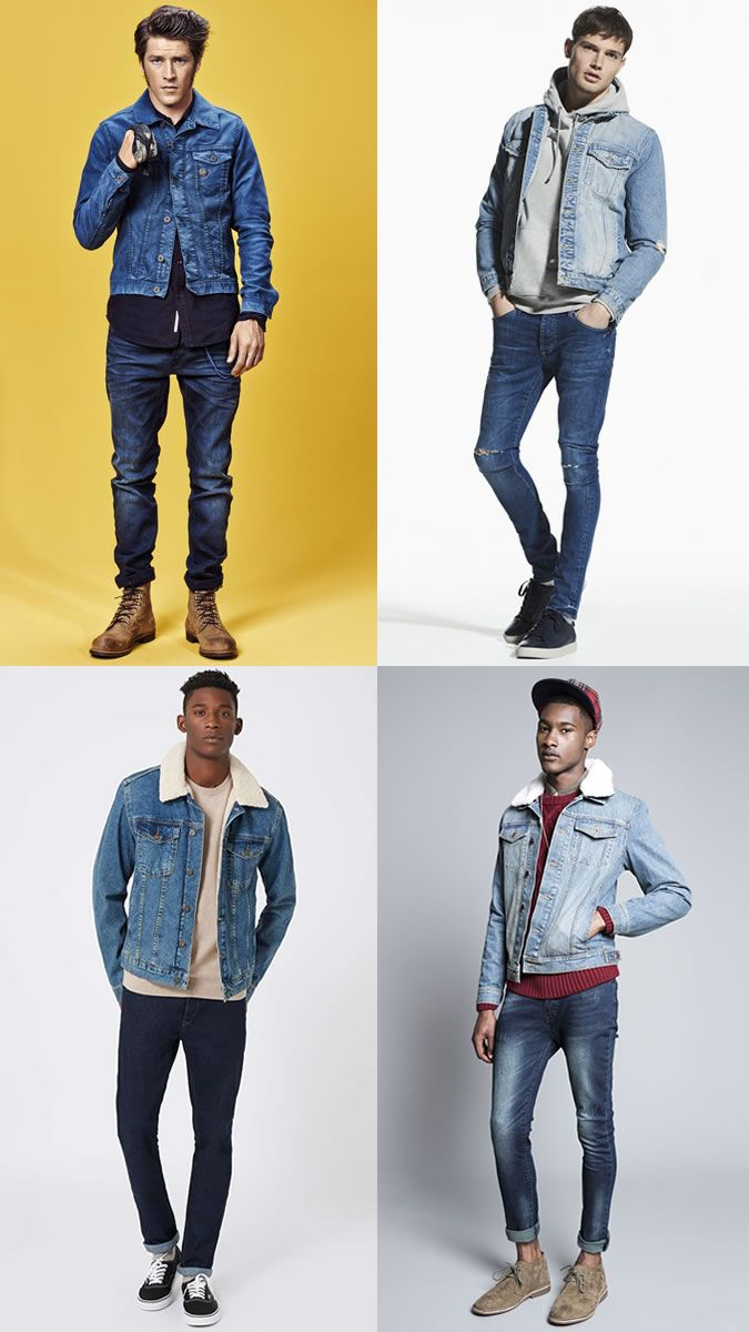 Watch - Jacket Denim men lookbook pictures video