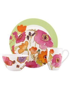 Lenox Floral Fusion 4pc Place Setting