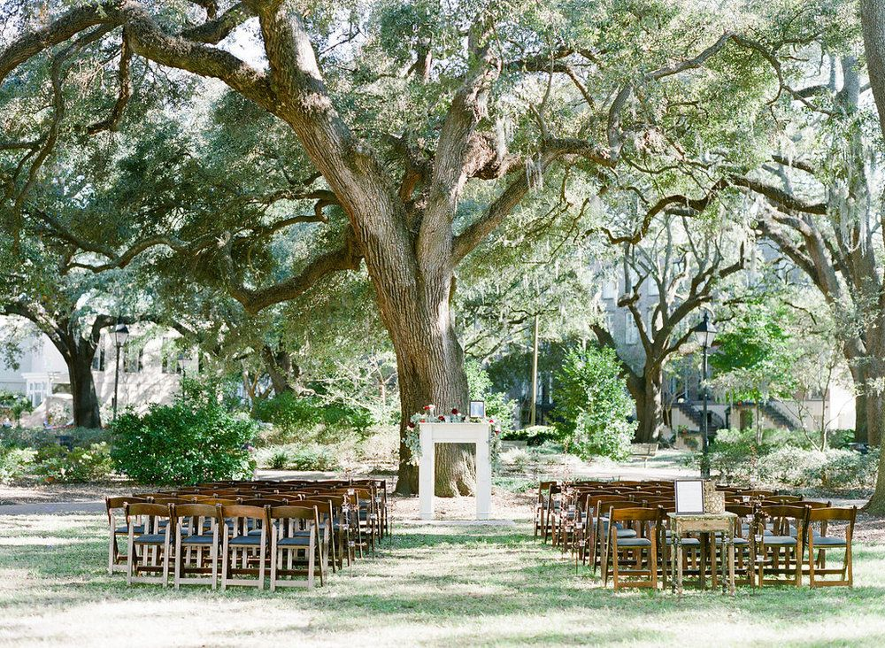 Quaint Savannah Wedding In Chatham Square Savannah Wedding Venue Savannah Wedding Savannah Chat