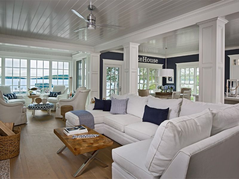 Walloon Lakeside | The Cottage Company | Harbor Springs, Michigan | Home  Builders U0026 Interior