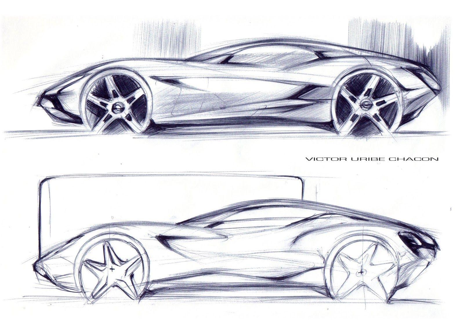 Victor Uribe Chacon Creative Automotive Designer Car Design Sketch Car Design Car And Motorcycle Design