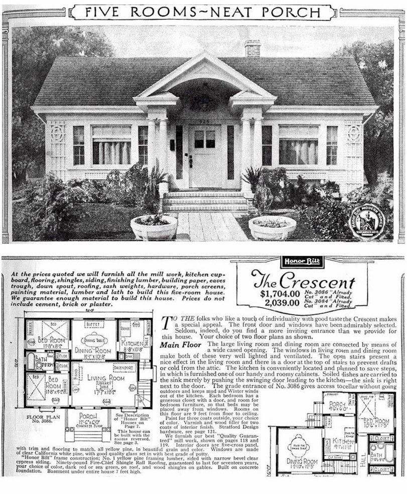 Sears-Roebuck Kit Houses Catalog