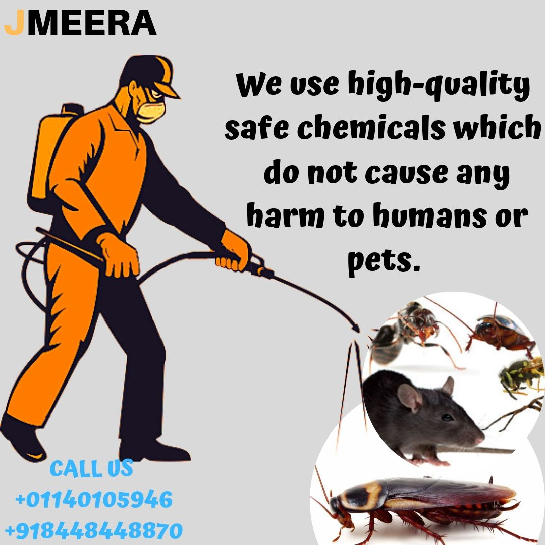 We use highquality safe chemicals which do not cause any