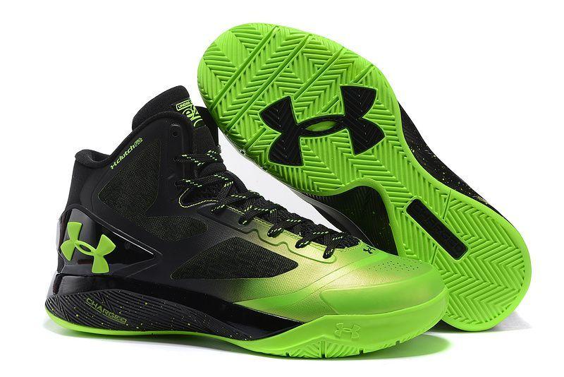 66fa716e1e53 Womans Under Armour UA ClutchFit Drive 2 Basketball Shoes Lime Black ...