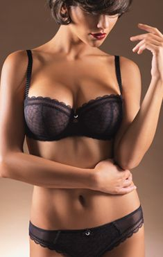 The C Chic Sexy Demi bra is the perfect opportunity to introduce a ...