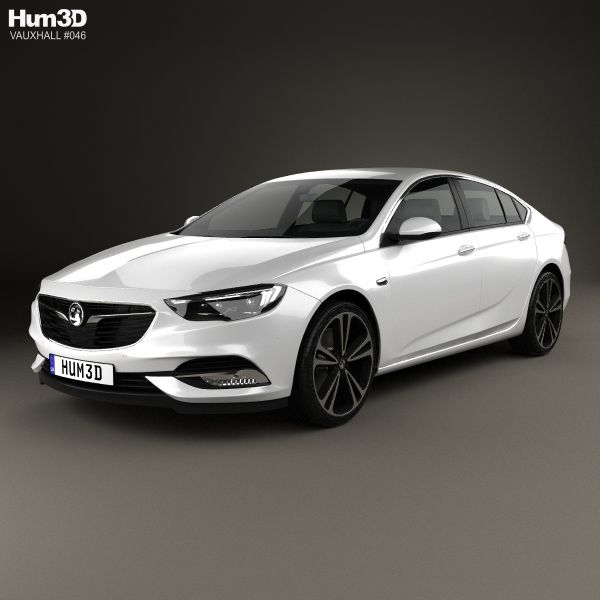 3d Model Of Vauxhall Insignia Grand Sport 2017 Vauxhall Insignia Acura Tlx 3d Model