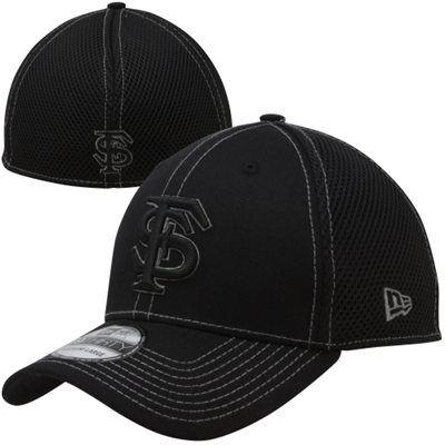size 40 fbb6d df852 New Era Florida State Seminoles (FSU) NCAA Flex Hat - Black