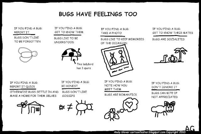 The Art Of Bug Reporting Cranky Product Manager Humor Bug Report