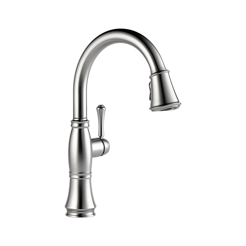 9197 Ar Dst Cidy Single Handle Pull Down Kitchen Faucet Products Delta