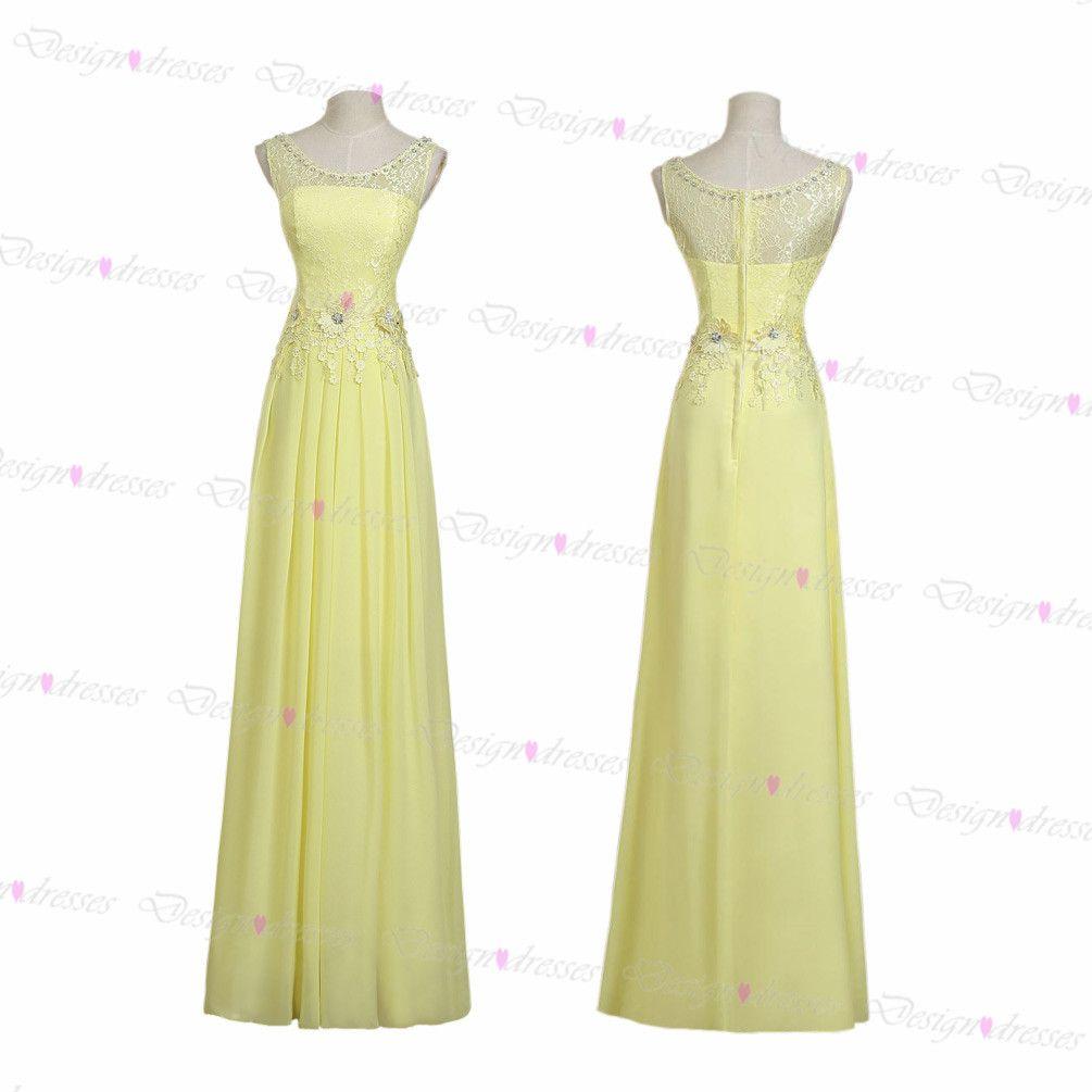Yellow lace prom dress prom dresses on luulla best sale pinterest