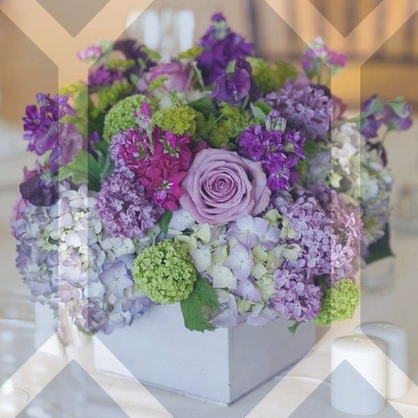 Cool Weather Wedding Flowers: 4 Fabulous Cool Ideas: Geometric Vases Gifts Round Vases