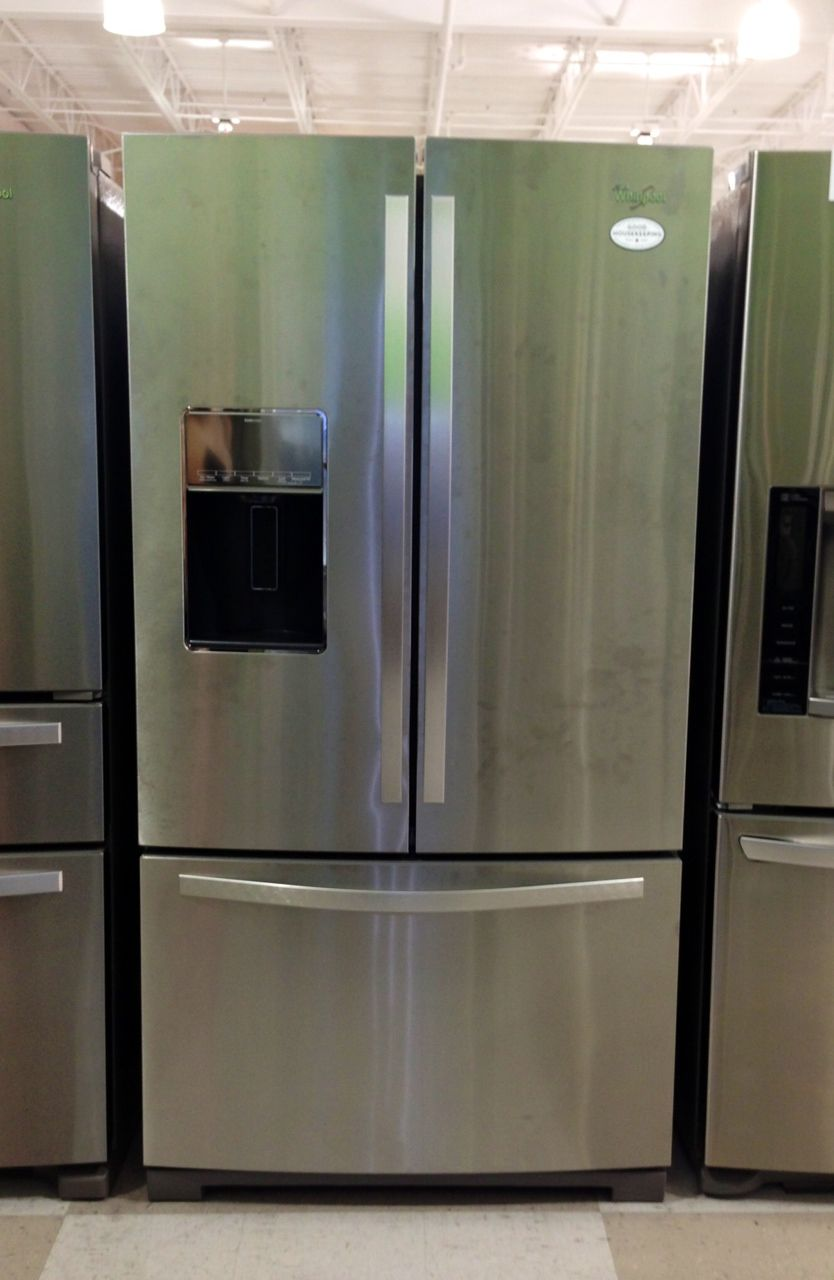 Refridgerator Hhgregg Whirlpool Wrf989sdam French Door
