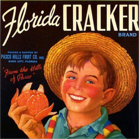 Dade City Florida Glory-Be Orange Citrus Fruit Crate Label Art Print