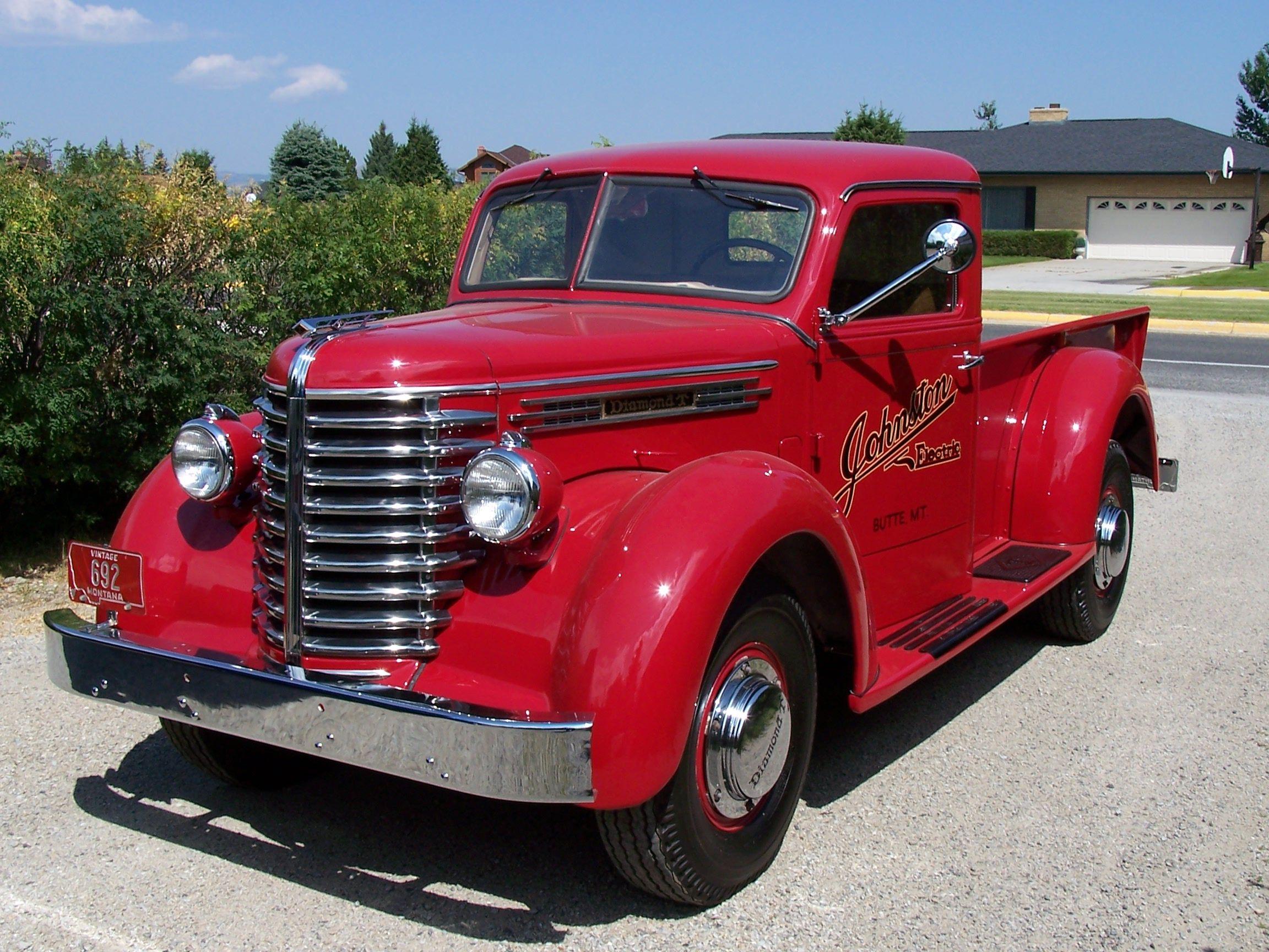 Very Cool Diamond T 201 | Classic pickup trucks, Pickup ...