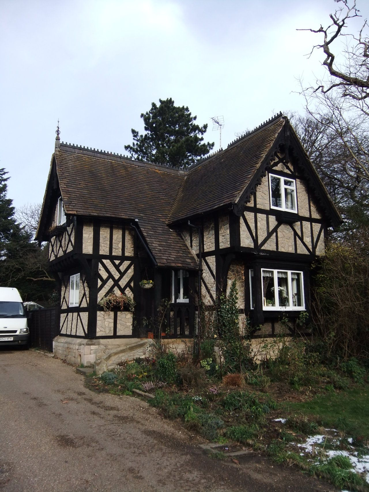 tudor cottage by fuguestock can i have this house