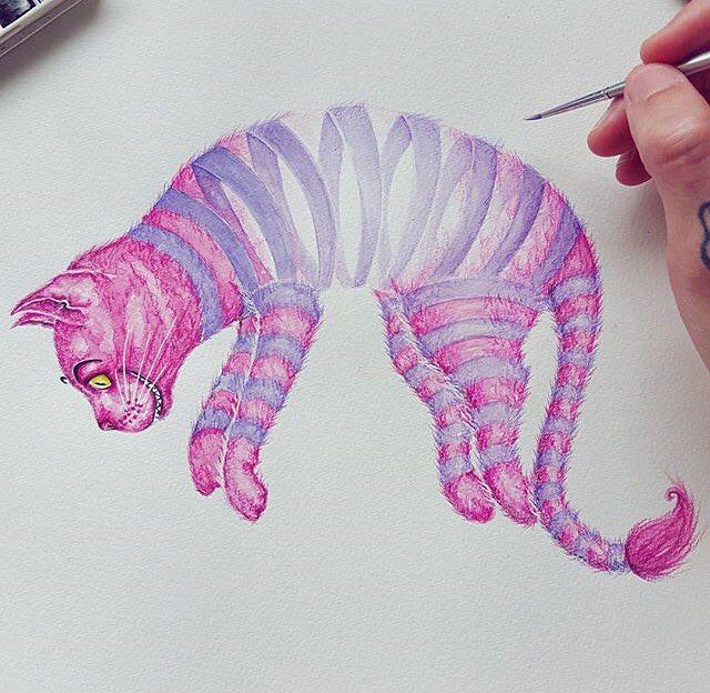 Cheshire Cat by @cheneygram