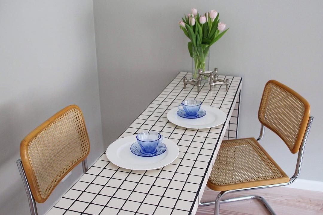 Ikon Kobenhavn S Tiled Tables Are The Next Big Thing Tile Tables Tiled Coffee Table Cute Dorm Rooms