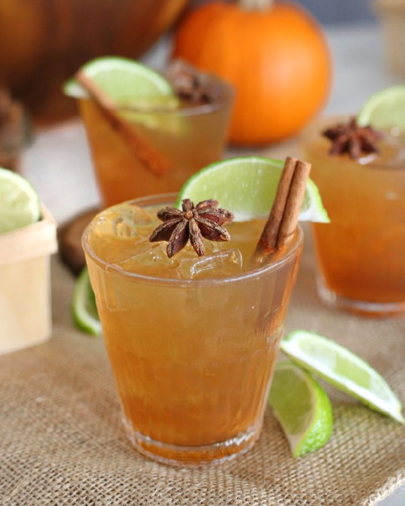 Spiced Rum Dark & Stormy Recipe At Be Mixed