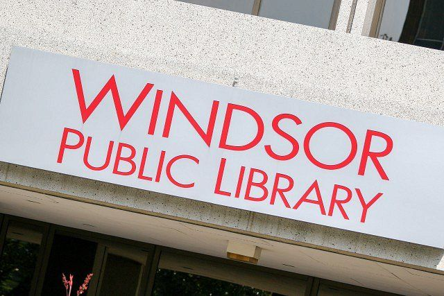 The Windsor Public Library Has Won The Ontario Genealogical Society S Award Of Merit For The Creation Of Their Local Histo Public Library Outdoor Movie Library