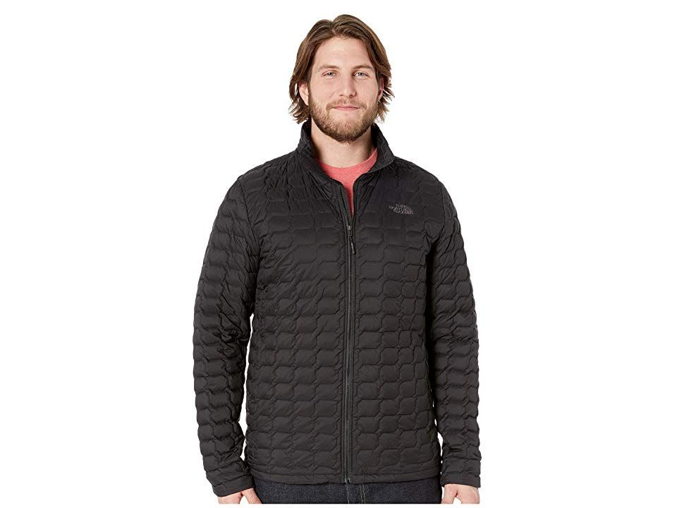 6128a1d97 The North Face ThermoBall Jacket - Tall (TNF Black Matte 1) Men's ...