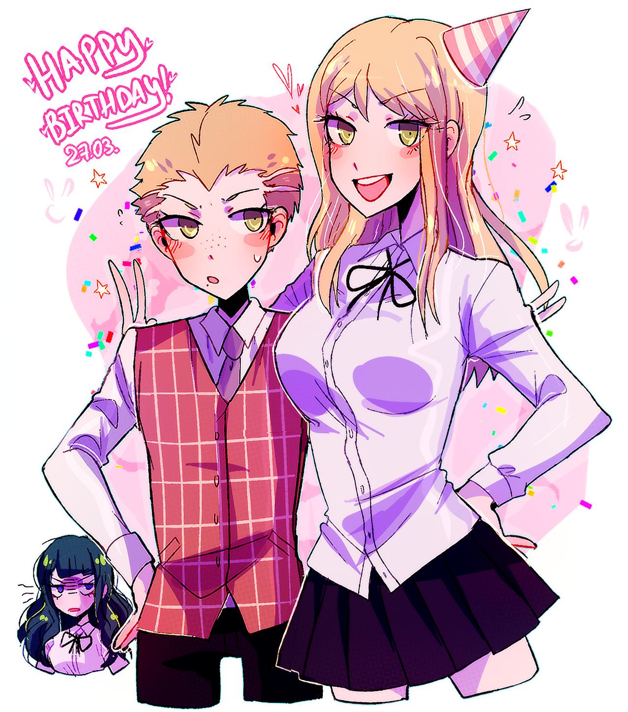 today's natsumi kuzuryuu's birthday! happ birthday bully