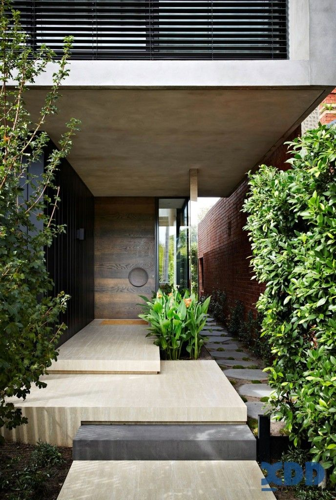 The Oban House By AGUSHI And David Watson Architect In South Yarra,  Australia Is A Contemporary Two Story Home.