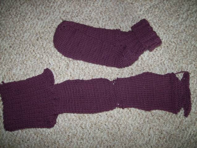2 Needle Socks Bev S Country Cottage Quick Knits Two