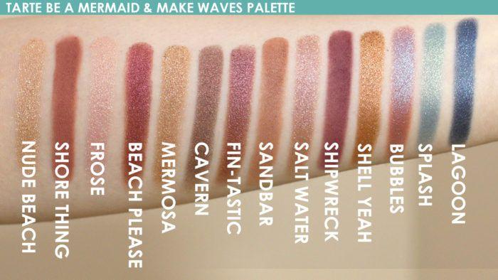 Be A Mermaid & Make Waves Eyeshadow Palette by Tarte #13