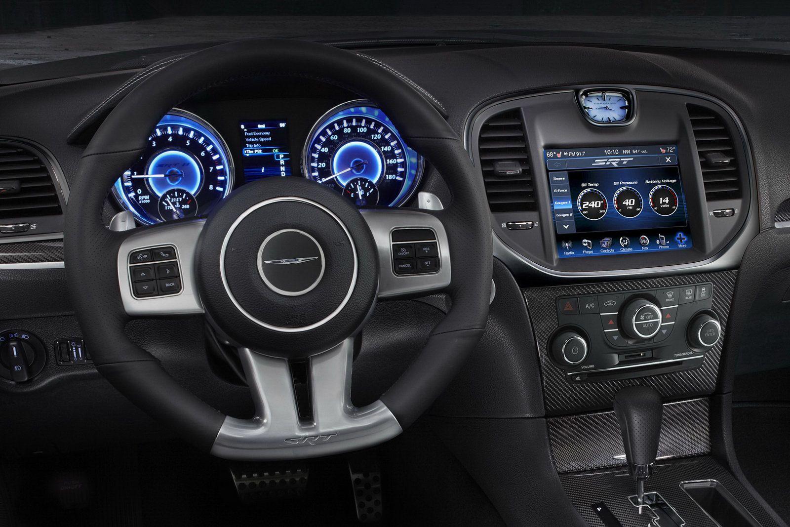 2012 Chrysler 300 Srt8 Brings The Thunder With 465hp 6 4 Liter