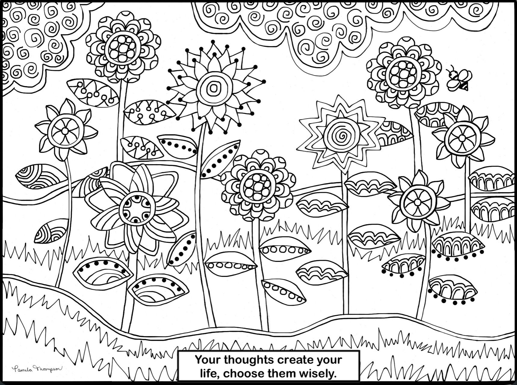 another one of my free coloring pages please print share u0026 color