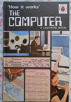 Ladybird book ~ How It Works - The Computer ~ 1971