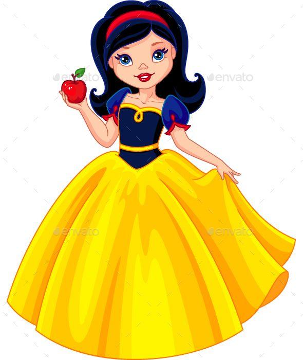 Snow white disney blanche neige blanche neige et nains - Petite princesse disney ...