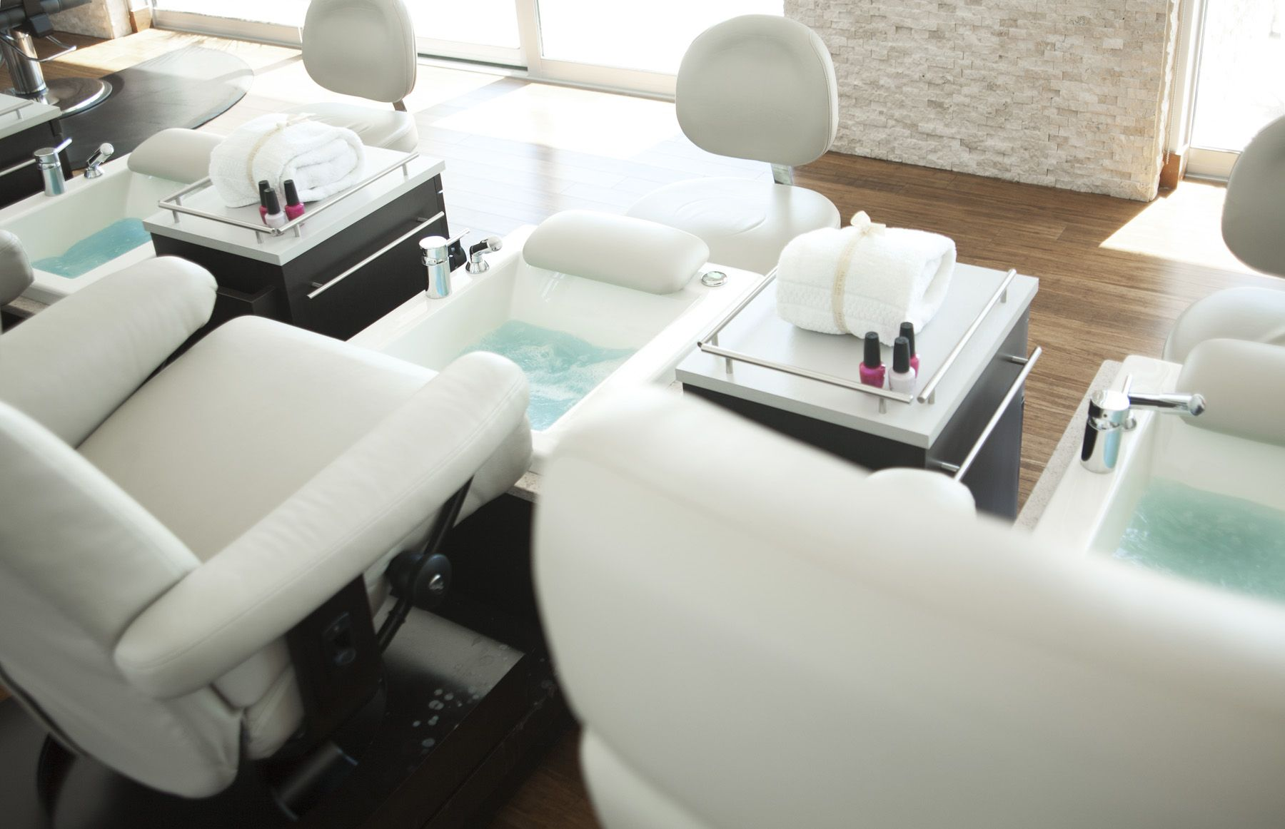 Pedicure chairs at the Spa Spa Pinterest