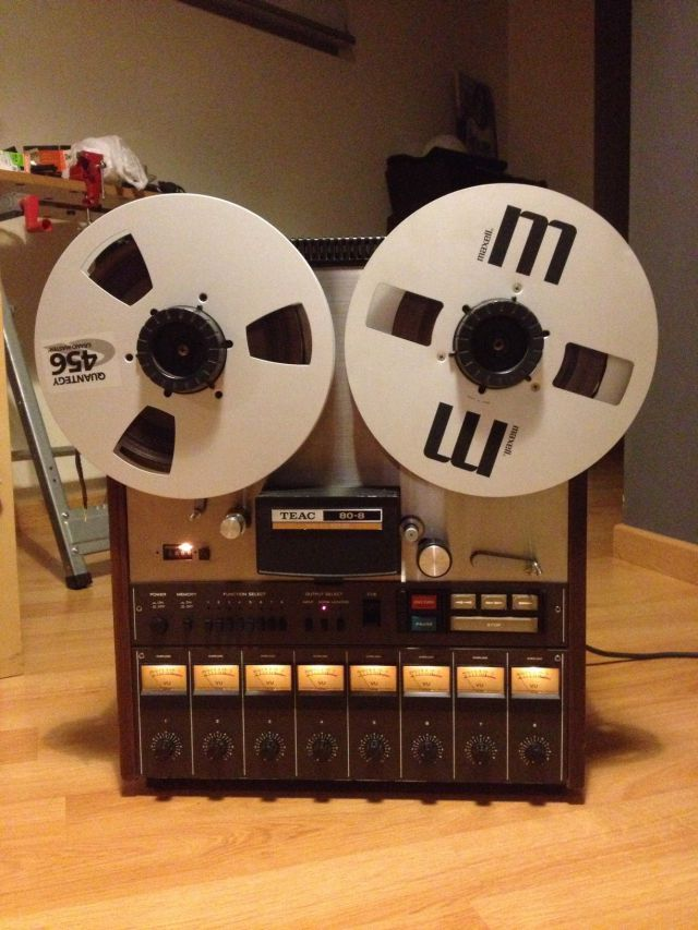 Teac Tascam 80-8 8 Track Reel To Reel Tape Recorder 1