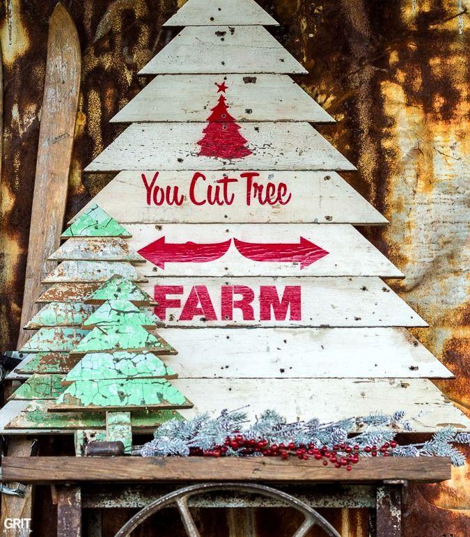 U Cut Christmas Trees.Farmhouse Christmas Wood Signs Christmas Tree Lots Wood