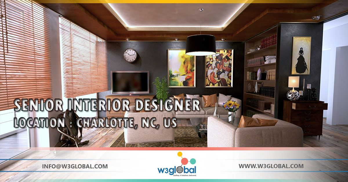 Interior designer jobs charlotte nc for Interior design jobs in america