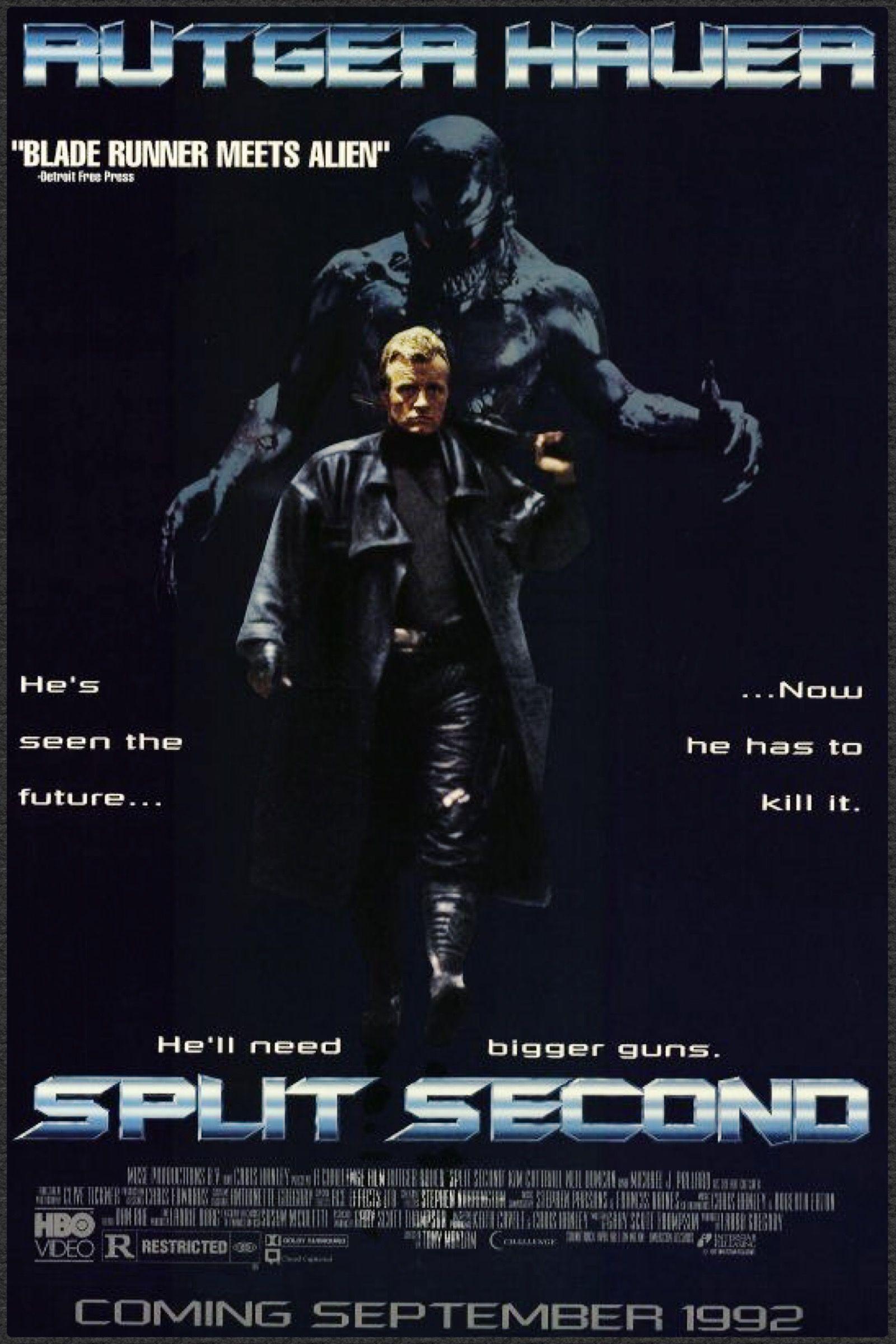 Split Second 1992 film, Split second, Post apocalyptic