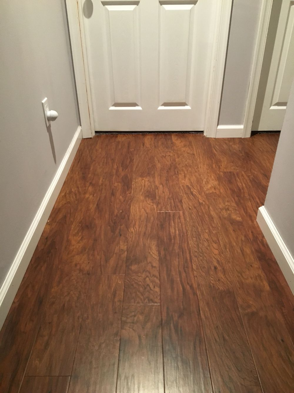 Allen and Roth flooring toasted chestnut Home decor Pinterest