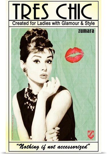 Audrey Hepburn Tres Chic | Audrey hepburn, Movie stars and Famous people