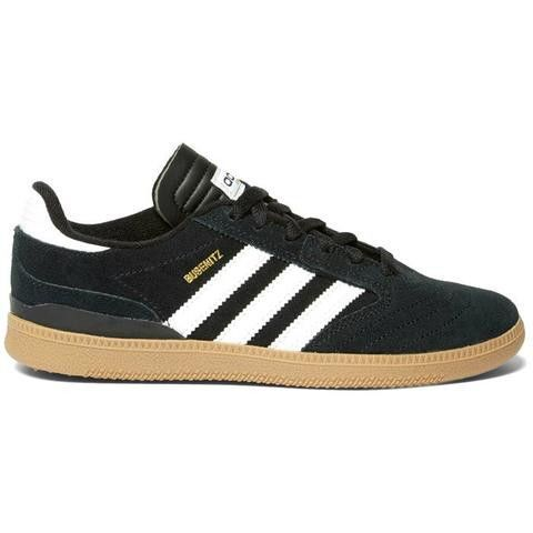 c9e9094c34ad Adidas Busenitz J Kids Shoes - Core Black Footwear White Gold
