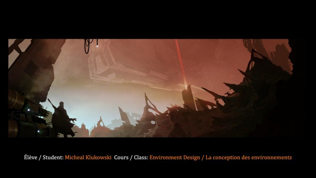 Digital artwork from the Environment Design class at Syn Studio !