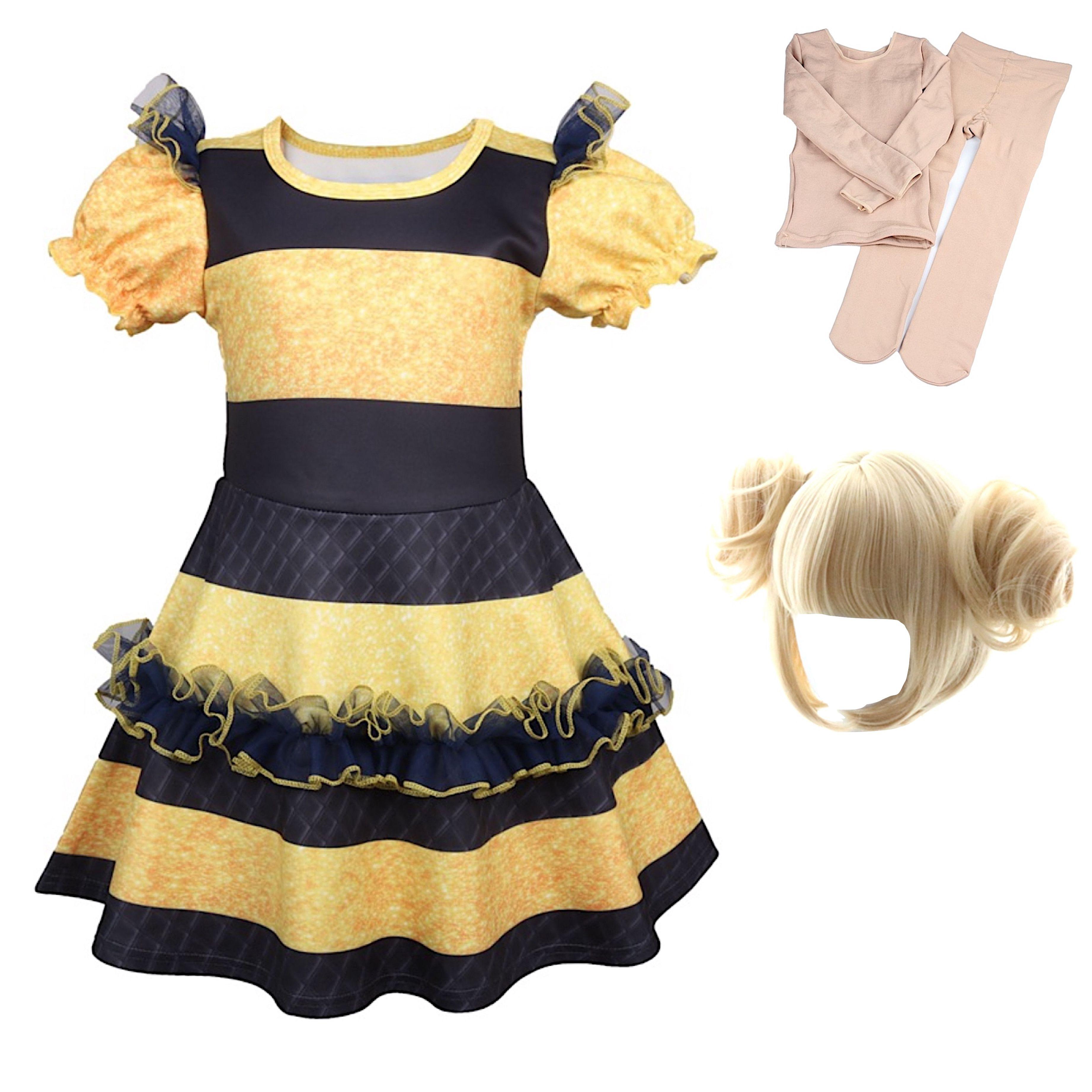 acquistare comprare a buon mercato prezzo di fabbrica Simile Lol Queen Bee Vestito Carnevale Bambina LOLQBEE2 ...