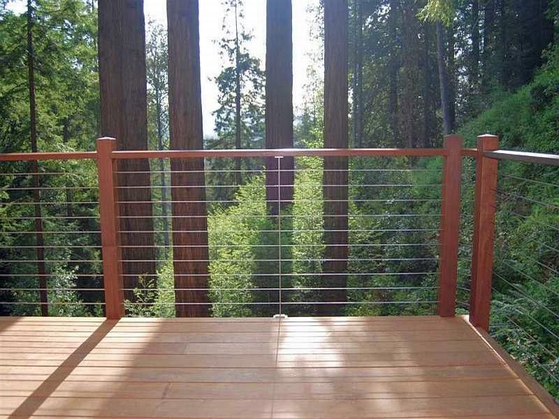 Beautiful Ultra Tec® Stainless Steel Cable Railing System   Modern   Porch   The  Cable Connection