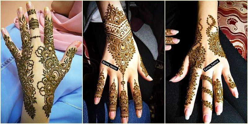 تشكيلة نقوش مميزة لمحبات الحناء Henna Hand Tattoo Hand Henna Hand Tattoos