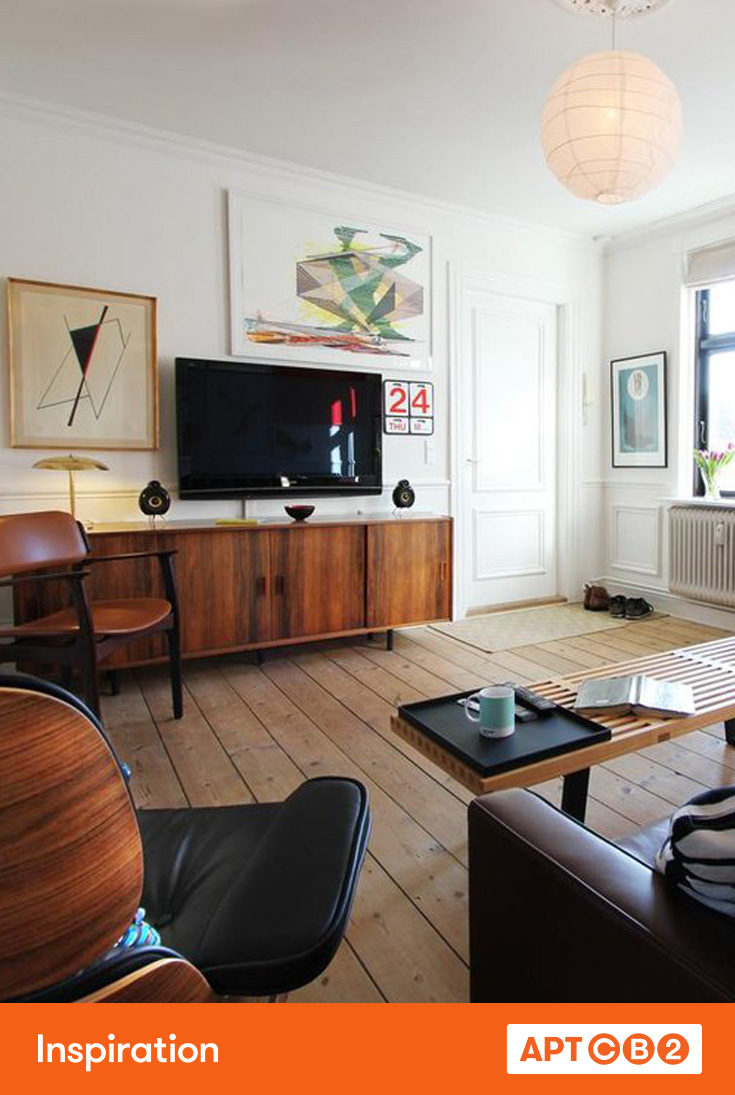 Mid century furniture pops of color id feel like a mad man in that room aptcb2 inspiration